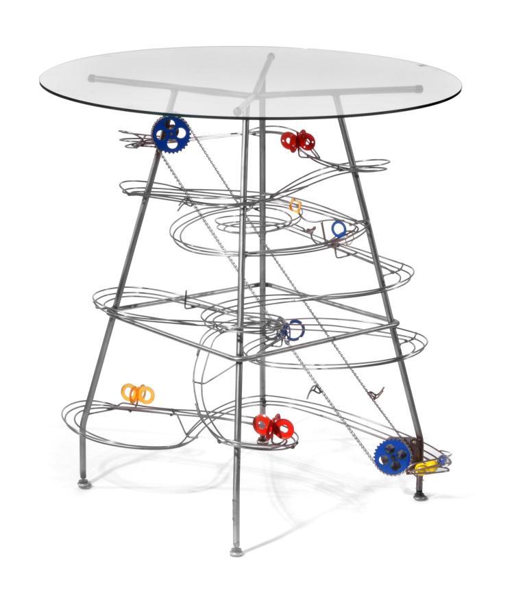 MODERN MECHANICAL TABLE.
