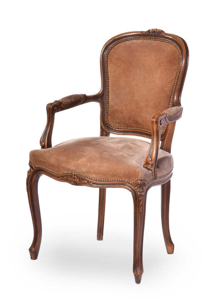 LOUIS XV STYLE FAUTEUIL.