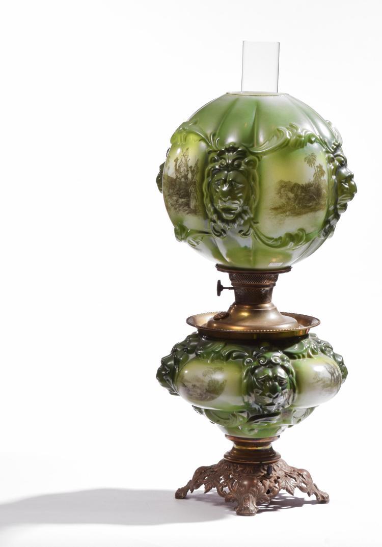 KEROSENE LAMP.