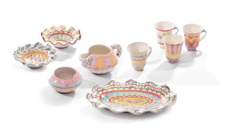 MACKENZIE-CHILDS CERAMIC COLLECTION.