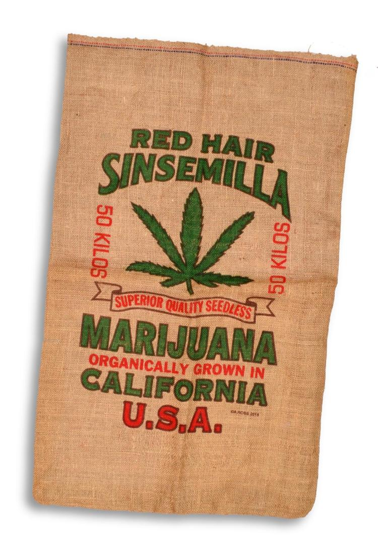 MARIJUANA HEMP BAG.