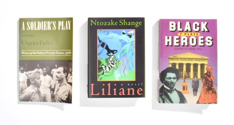 COLLECTION OF SCREENPLAYS BY AFRICAN-AMERICAN AUTHORS.