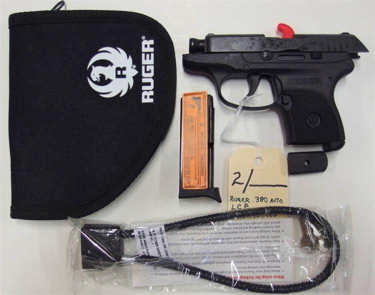 RUGER .380 Auto LCP Semi-Auto Pistol, New in box
