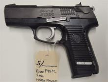 Lot 5: RUGER P95DC Semi-Auto 9mm Pistol, Defensive Carry Version