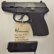 Lot 6: KEL-TEC P-11 Semi-Auto 9mm Pistol