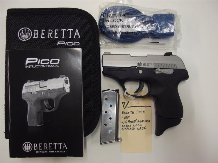 BERETTA Pico .380 INOX Semi-Auto Pistol