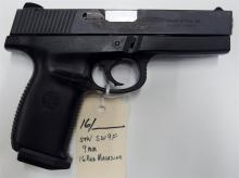 Lot 16: SMITH & WESSON SW9F Sigma 9mm Semi-Auto Pistol