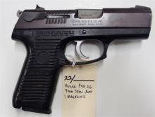 Lot 22: RUGER P95 DC 9mm Semi-Auto Pistol