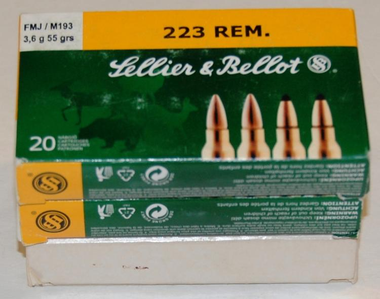 Assorted .223 Ammo, 60 Rounds