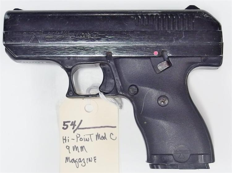 HI-POINT Model C9 9mm Semi-Auto Pistol
