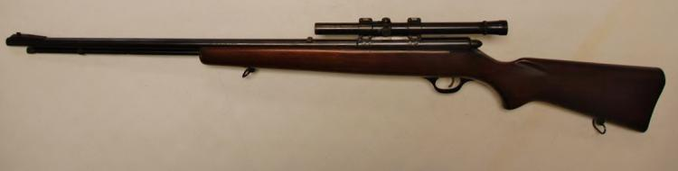 Lot 75: MARLIN Model 81-DL .22 cal. S-L-LR Bolt Action Rifle with Scope
