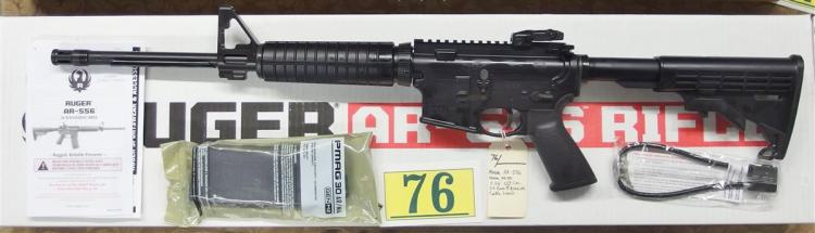 RUGER AR-556 Model 8500 5.56/.223 Semi-Auto Rifle, NIB