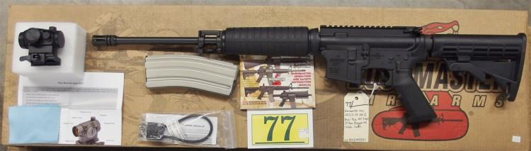 Bushmaster QRC Quick Response Carbine w/Red Dot .223/5.56 AR-15 Rifle 91046