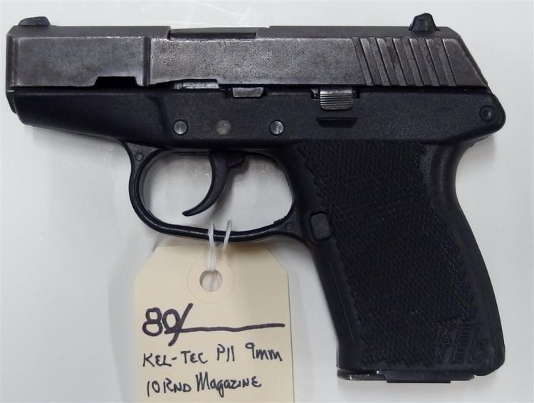 Lot 80: KEL-TEC P-11 9mm Luger Semi-Auto Pistol