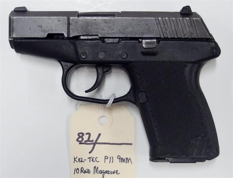 KEL-TEC P-11 9mm Luger Semi-Auto Pistol