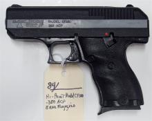 Lot 84: HI-POINT CF 380 .380 Semi-Auto Pistol