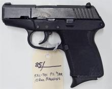 Lot 85: KEL-TEC P-11 9mm Luger Semi-Auto Pistol