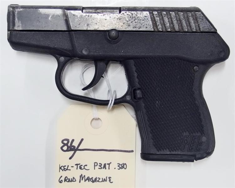 KEL-TEC P3AT .380 Auto Semi-Auto Pistol