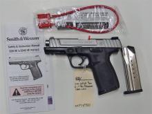 Lot 88: SMITH & WESSON SD9VE 9mm Semi-Auto Pistol, NIB