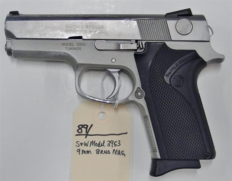 SMITH & WESSON Model 3953 9mm Semi-Auto Pistol