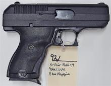 Lot 92: HI-POINT C9 9mm Luger Semi-Auto Pistol