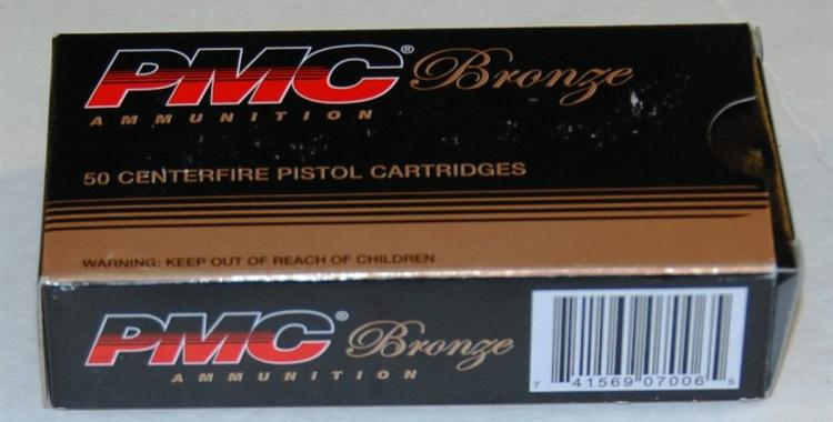 Lot 109: PMC .380 cal. Ammo, 50 Rounds