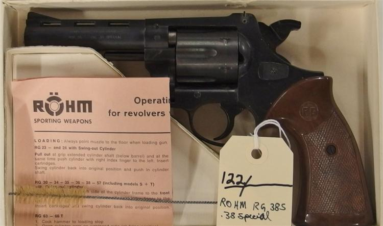 Rohm RG.395 38 Special 6 Shot Revolver