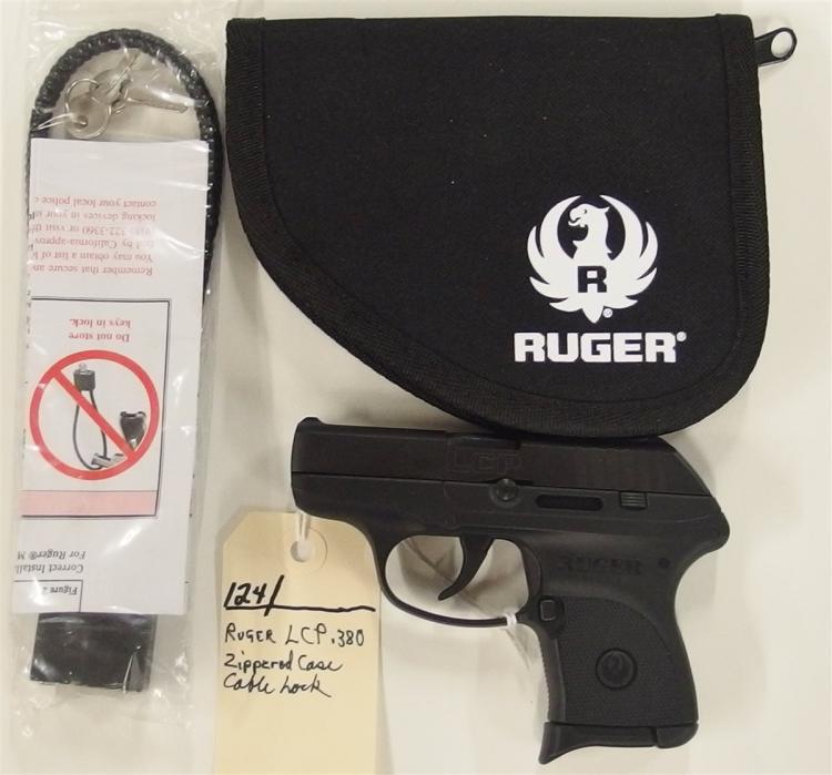 Lot 124: RUGER LCP .380 Auto Semi-Auto Pistol