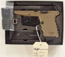 Lot 125: SCCY Model CPX-2 9mm Semi-Auto Pistol, NIB