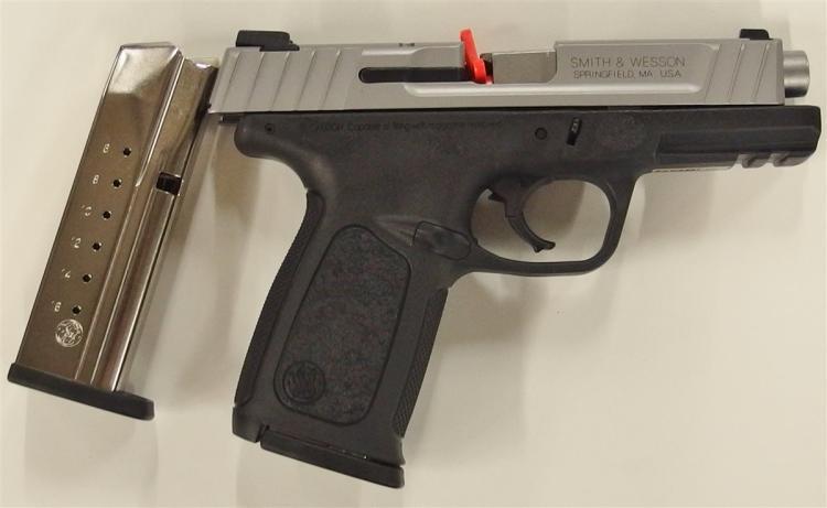 Lot 126: SMITH & WESSON SD9VE 9mm Semi-Auto Pistol, NIB