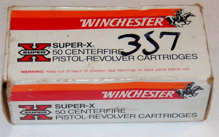 Lot 131: Winchester .357 cal. Ammo, 50 Rounds