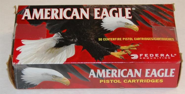 American Eagle 10 mm Ammo, 50 Rounds