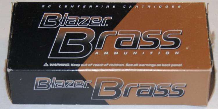 Lot 137: Blazer Brass .45 Auto Ammo, 50 Rounds