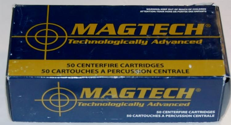 Magtech .44 Mag. Ammo, 50 Rounds