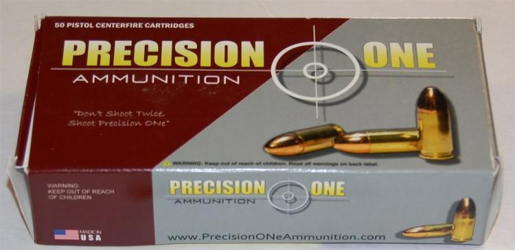 Lot 152: Precision One .44 Mag Hollow Point Ammo, 50 Rounds