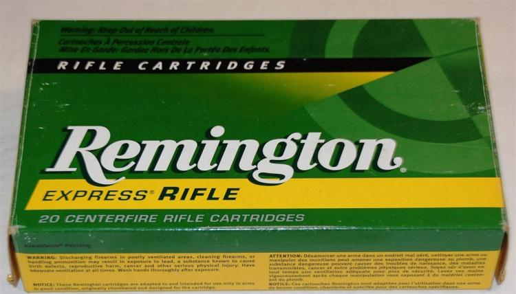 Remington 375 H&H MAG Ammo, 20 Rounds