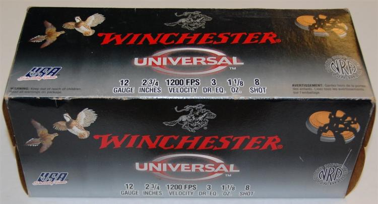 Winchester 12 GA Shotgun Shells, 100 Rounds