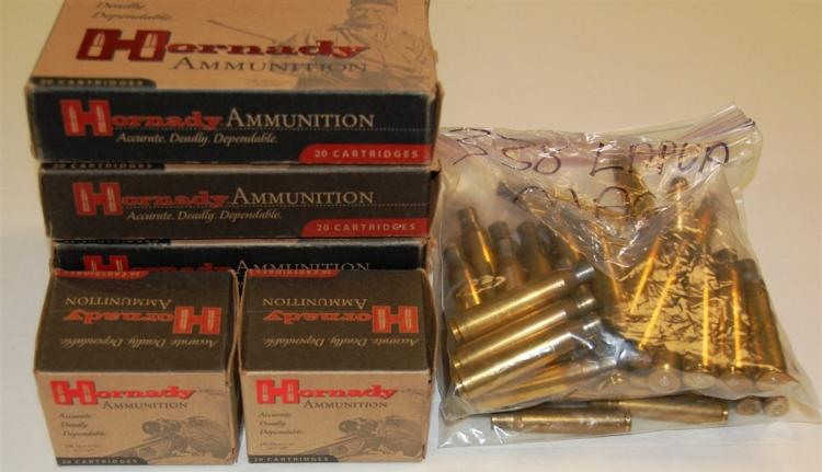 Assorted Brass Shells, Empty For Reloading