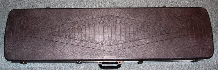 Gun Guard Hard Plastic Long Gun Case, Alligator Textured Surface, 52 x 13