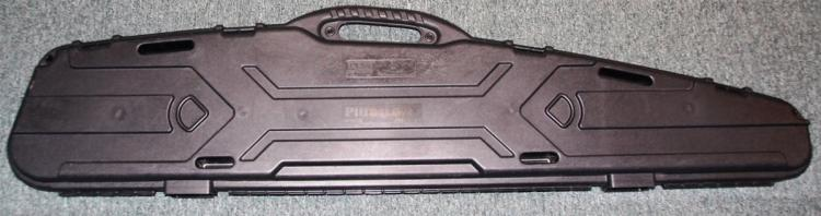 Promax Pillarlock Hard Plastic Long Gun Case, 52 x 9