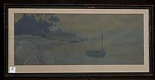 HENRI RIVIERE (FRENCH, 1864-1951) LA NUIT, 1902, COLOR LITHOGRAPH
