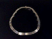 HEAVY STERLING LINK NECKLACE