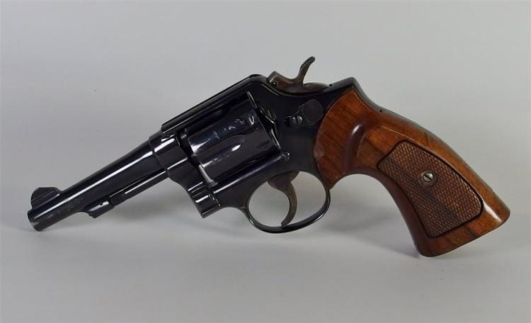 Lot 7: SMITH & WESSON (S&W) C.T.G. REVOLVER 38 cal Special