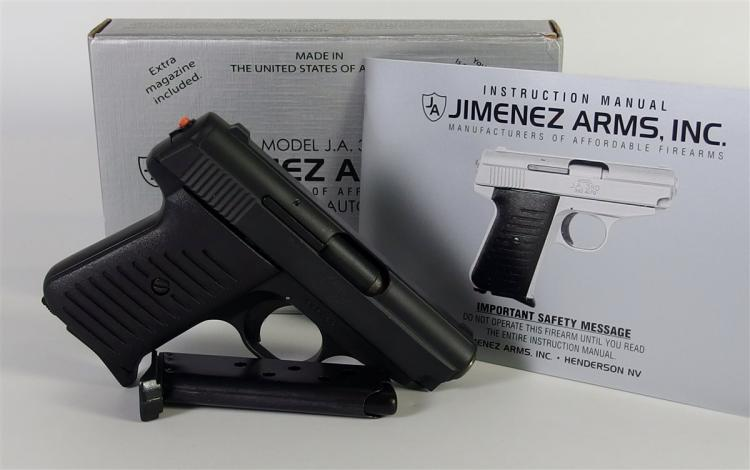 Lot 9: JIMENEZ ARMS Model JA380 Semi-Auto PISTOL, Never Fired, NIB