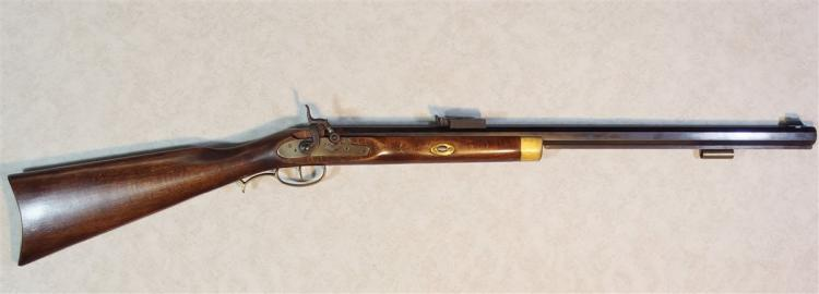 Lot 16: CONNECTICUT VALLEY ARMS (CVA) Model Frontier Black Powder RIFLE 50 cal. Desert Storm 1991 Commemorative Edition.