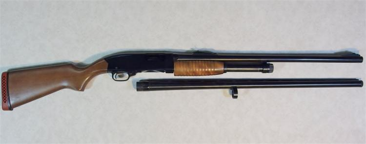 "WINCHESTER RANGER Model 120 Shotgun with Deer Slug Barrel 2-3//4 to 3"" & Bird Barrel w/ Winchoke"