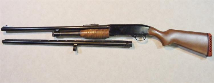 "Lot 19: WINCHESTER RANGER Model 120 Shotgun with Deer Slug Barrel 2-3//4 to 3"" & Bird Barrel w/ Winchoke"
