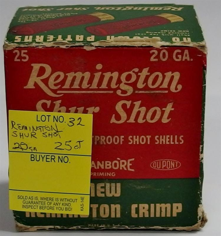 25 Rounds Remington ShurShot 20g Shells