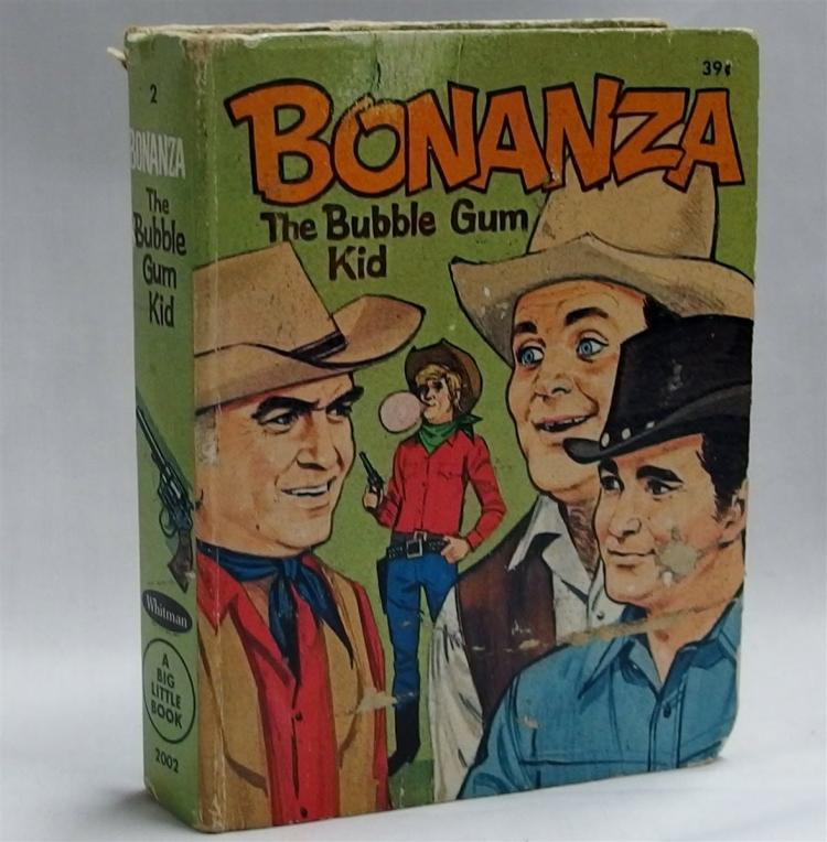 Big Little Book – 1967 BONANZA The Bubble Gum Kid, #2002