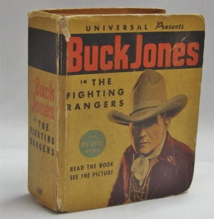Big Little Book – 1936 BUCK JONES, The Fighter Ranger, #1188